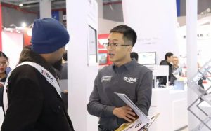 vika DPA at Automechanika Shanghai